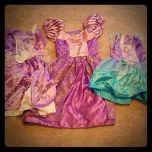 Other - Girl's Disney Dress Up Costumes set of 3